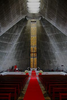 St. Mary's Cathedral in Gokokuji, Tokyo, Japan