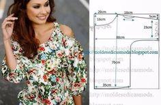 Реально БОЛЬШАЯ подборка модных легких блузок с выкройками, которые можно сшить за пару часов! — В Курсе Жизни