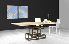 Inception - Dinning Table by Lestrocasa Firenze #Italy