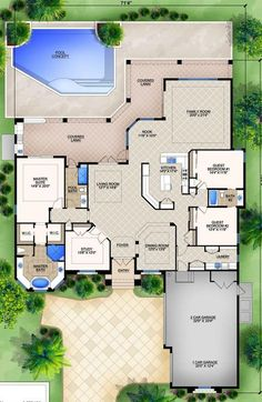 Rv Garage Home Floorplan We Love It Floorplans