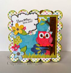 Miss Kate Cuttables & Scrappy Moms Stamps!! One of my favorite cards by far!!!