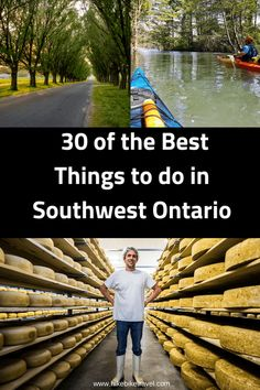 30 of the Best Things to Do in Southwest Ontario - Hike Bike Travel Ontario Camping, Ontario Travel, Toronto Travel, Cool Places To Visit, Places To Travel, Places To Go, Travel Destinations, Quebec, Canadian Travel