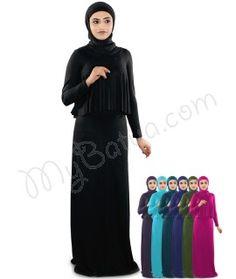 Daniya Jersey Abaya