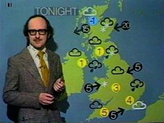 """Earlier on today apparently, a woman rang the BBC and said she heard there's a hurricane on the way...well, if you're watching, don't worry, there's isn't..."" Michael Fish, a few hours before the Great Storm, October 15th 1987, the worst storm to hit the South East of England in three centuries, causing record damage and killing 19 people."