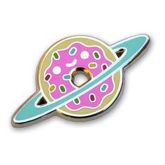 Donut Galaxy Pin
