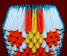 12 3D Origami Matryoshka