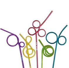Crazy straws Things of the past ( ) - Dingen van vroeger ( ) ( Rare rietjes )
