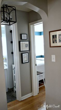 Decorating a small hallway hallway ideas, hallway wall colors, hallway colour schemes, hallway Hallway Wall Colors, Hallway Colour Schemes, Entryway Paint Colors, Hallway Wall Decor, Hallway Walls, Upstairs Hallway, Hallway Storage, Hallway Lighting, Hallway Ideas