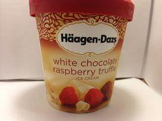 Crazy Food Dude Review: Haagen-Dazs White Chocolate Raspberry Truffle Ice Cream