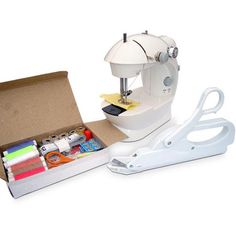 Michley Lil' Sew & Sew Mini Sewing Machine & Accessories 3-Piece Value Bundle - Walmart.com