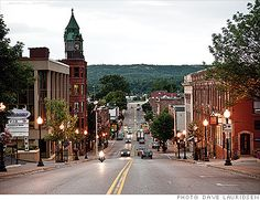 I think I like the idea of living in a town like this!