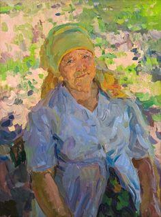 «Mam»80х60; Oil on canvas; 2009. Yuri Krotov