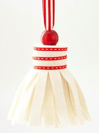 tassel trim ornament