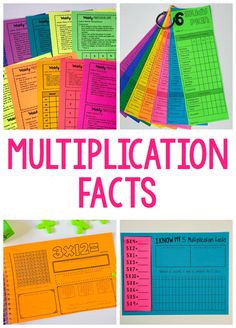 This post shares some of my favorite strategies for teaching multiplication facts. These activities can be adapted into any math class! This post shares some of my favorite strategies for teaching m Teaching Multiplication Facts, Multiplication Strategies, Math Facts, Teaching Math, Math Fractions, Teaching Reading, Maths, Teaching Tables, Multiplying Decimals