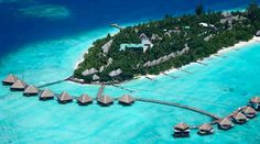 I wanna stay in one of the overwater bungalows in Maldives