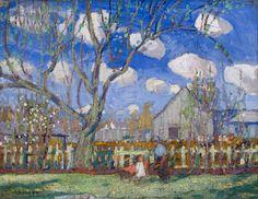 Arthur Lismer - Country Farm 12 x 15.25 Oil on canvas on board (1916) Tom Thomson, Group Of Seven, Fine Art Auctions, Canvas Board, Country Farm, Art Of Living, Oil On Canvas, Landscape, Artist