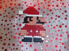 Super Mario Bros Papa Noel Hama Beads