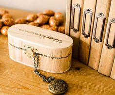 A small wooden box designed to hold personal treasures becomes a keepsake itself when customized with woodburning. European blogger Lynn of Cosymore personalized her tiny jewelry box with a woodburner tool, first transferring text to the lid for easy-to-read typography. A geometric pattern on the inside is a playful and unexpected touch. Learn more at Cosymore.