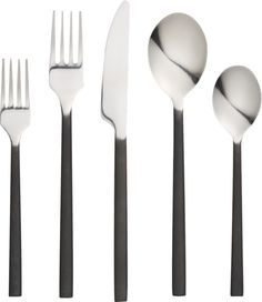 20-piece pattern 127 flatware set | CB2 . is it too soon to get new flatware? .