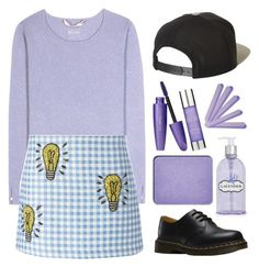 """""""Oh the thinks you can think"""" by gaaras-leaf on Polyvore featuring 81hours, Au Jour Le Jour, Dr. Martens, Brixton, Crabtree & Evelyn, shu uemura and Alterna"""