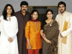 Rare picture of #Chiranjeevi with family!!