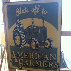Hats off. #yayfarmers Farm Signs, Farmer, Branding, Hats, Instagram, Brand Management, Hat, Farmers, Identity Branding