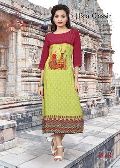 080dc255ed ksm parampara vol 2 rayon readymade kurtis wholesale price #kurti # partywearkurti #kurtiwholesaler #