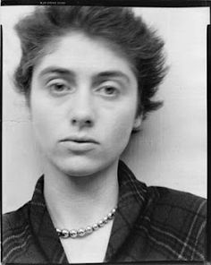 Photograph of Diane Arbus by husband Allan Arbus, 1949.