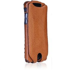 Orbino Pantera Sei Case for the iPhone 6 in Pecan Leather