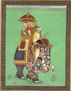 Image result for lakshmi and ganesha miniature painting