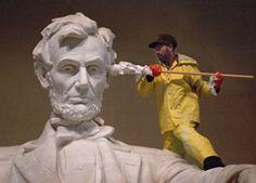 Abraham Lincoln and the Q-tip