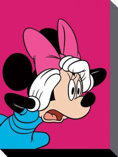 Minnie Mouse Jack en el cuadro