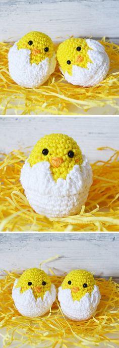 Baby Crochet Toys Easy 42 Ideas For 2019 Crochet Easter, Easter Crochet Patterns, Holiday Crochet, Cute Crochet, Crochet Dolls, Knitting Patterns Free, Crochet Baby, Easy Crochet, Simply Crochet