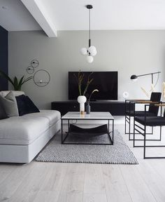 55 brilliant solution small apartment living room decor ideas and 17 « Home Decoration 3 Piece Living Room Set, Living Room Sets, Living Room Designs, Living Room Decor, Bedroom Sets, Daybed In Living Room, Living Room Grey, Interior Design Trends, Home Design