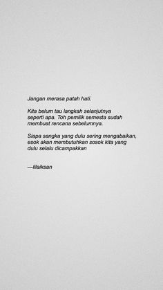 Reminder Quotes, Self Reminder, Mood Quotes, Poetry Quotes, Mode Ulzzang, Cinta Quotes, Quotes Galau, Quotes Indonesia, Tumblr Quotes