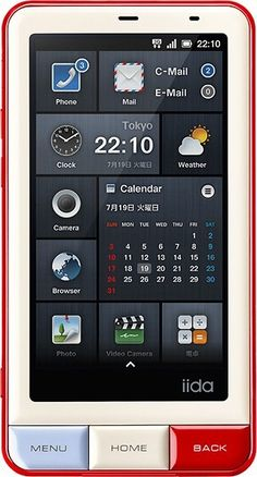 INFOBAR A01 Android Phone