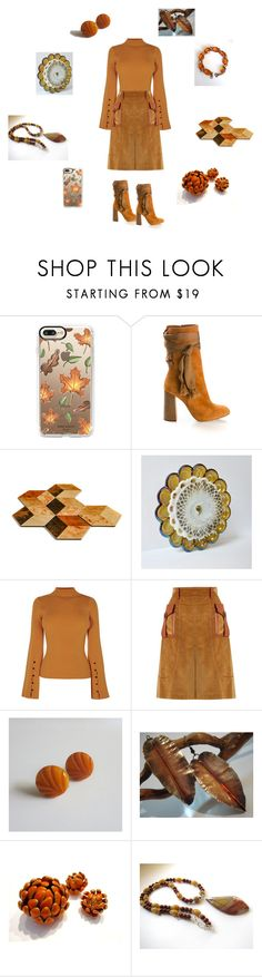 """Autumn shades"" by einder ❤ liked on Polyvore featuring Casetify, Chloé and Prada"