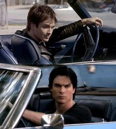 Ian Somerhalder the car and the man...yes please!