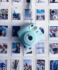 Fujifilm Instax Mini 9 Ice Blue Instant Camera - Instax Camera - ideas of Instax Camera. Trending Instax Camera for sales. Instax Mini 8, Instax Mini Camera, Fujifilm Instax Mini, Camera Aesthetic, Foto Picture, Polaroid Instax, Appareil Photo Reflex, Dslr Photography Tips, Polaroid Pictures