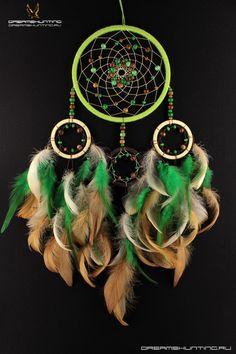 Зелёно-бежевый ловец снов.#dream #catcher#dreamcatcher#амулеты#hand #made#купить#ловец#снов#dreamshunting#ручной#работы#ловцы#новосибирск#ловушка#большие