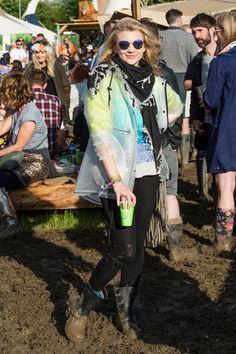 Pin for Later: Seht die Festival-Outfits der Stars in Glastonbury Natalie Dormer