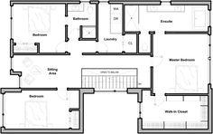 Residência Westboro,Planta 2º Pavimento
