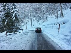 Help to drive on snow for the first time