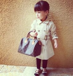 Oh. My. God. This picture will be recreated if Homekid is a girl. All I need is a little trench.