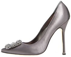 These beautiful gray shoes with the dress...purple bridesmaids dresses with gray accesories/sashes....purple and yellow flowers on gray (textured or patterned) linens. I'm not engaged but I'm pretty sure that will be my wedding
