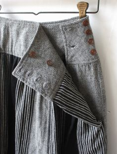[Envelope Online Shop] Glynis Lisette bottoms Techniques Couture, Sewing Techniques, Big Skirts, Silk Ribbon Embroidery, Knit Cardigan, Cotton Linen, Sewing Clothes, Dressmaking, Needle And Thread