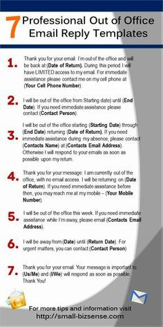Here are 7 Professional Out of Office Email Reply Templates that you can use - Email Marketing - Start your email marketing Now. - Here are 7 Professional Out of Office Email Reply Templates that you can use English Writing Skills, Writing Tips, Writing Desk, Writing Prompts, Business Writing Skills, Resume Writing, Out Of Office Email, Out Of Office Reply, Out Of Office Message