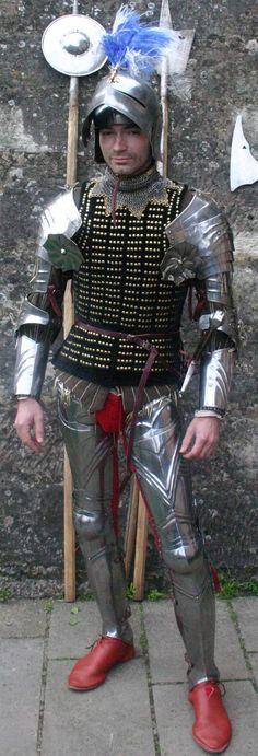 brigandine armor - Google Search