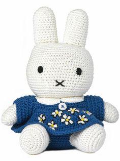 Miffy! #crochet #toys #rabbits #lapins #jouets #haak