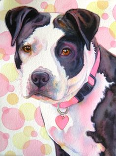 Tracy Lewis - Images to dream - Hunde Watercolor Animals, Watercolor Art, Art And Illustration, Illustrations, Dog Portraits, Animal Paintings, Oeuvre D'art, Dog Art, Art Drawings